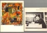 Droste, Magdalena u.a.: Georg Muche. Das künstlerische Werk 1912-1927. Kritisches Verzeichnis der Gemälde, Zeichnungen, Fotos und architektonischen  Arbeiten. Mit zahlr., teils  farbigen Illustrationen. Dazu eine BEIGABE.