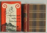 Edschmid, Kasimir: Stürme und Stille am Mittelmeer. Ein Rundblick. Mit 20 Bildtafeln und 1 Faltkarte. Dazu eine Beigabe.