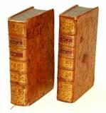 De la Croix, Jean François]: Dictionnaire historique portatif des femmes celebres. Zwei Bände (so vollständig !) [Text Französisch].
